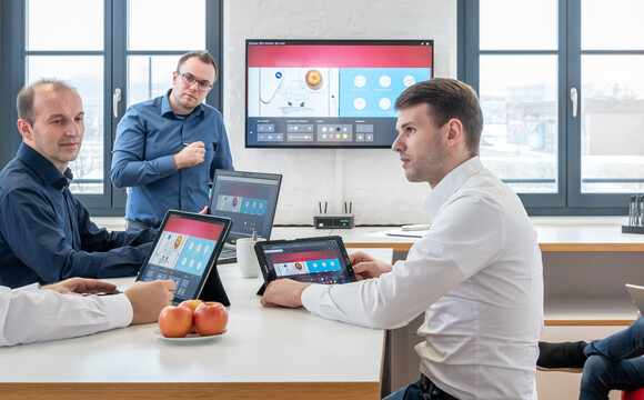 Wireless collaboration tools for meetings