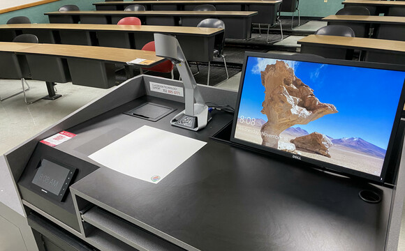WolfVision vSolution Cam Visualizer / document camera at University of Nevada, Las Vegas
