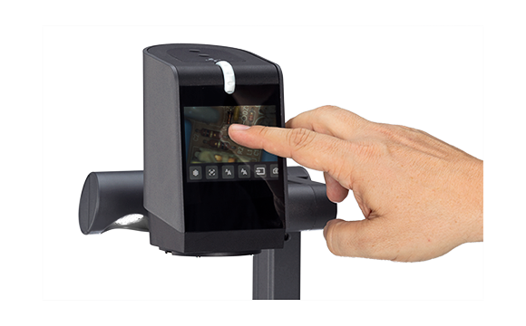 Document Camera / Visualizer VZ-8.UHD, Touchscreen Focus