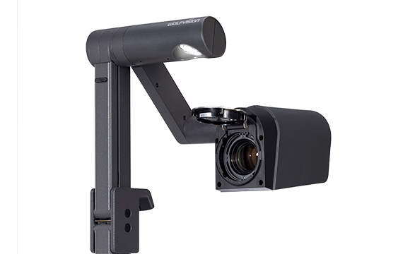 Document Camera / Visualizer VZ-8.UHD, Back Side Camera Turned