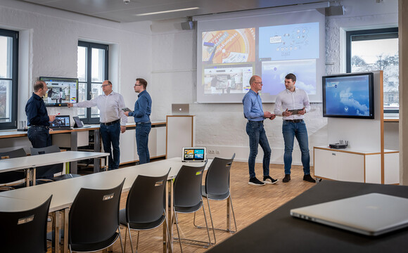 Flexible collaborative working at ZDI, Mainfranken, Germany