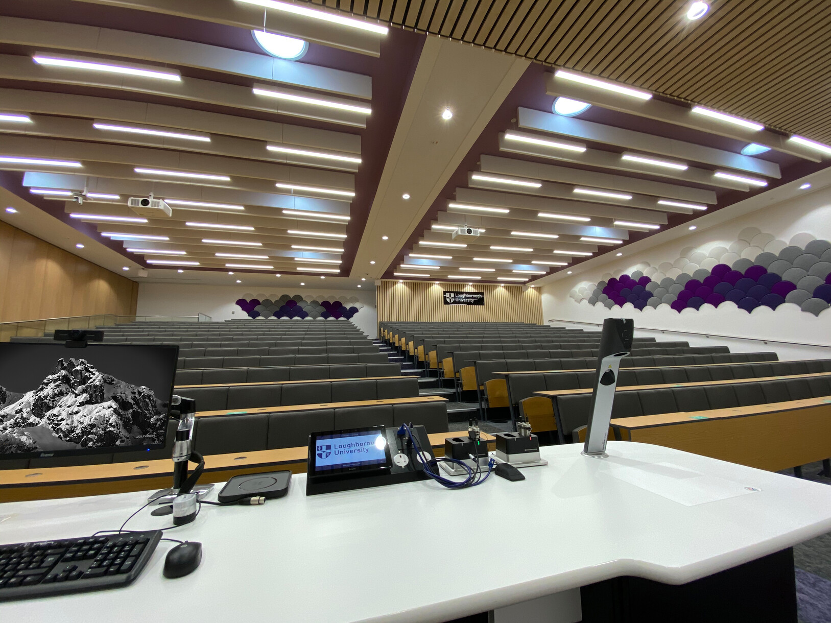 Loughborough University, UK: Live imaging of digital content together with physical objects and handwriting capture for in-person, online and hybrid learning.