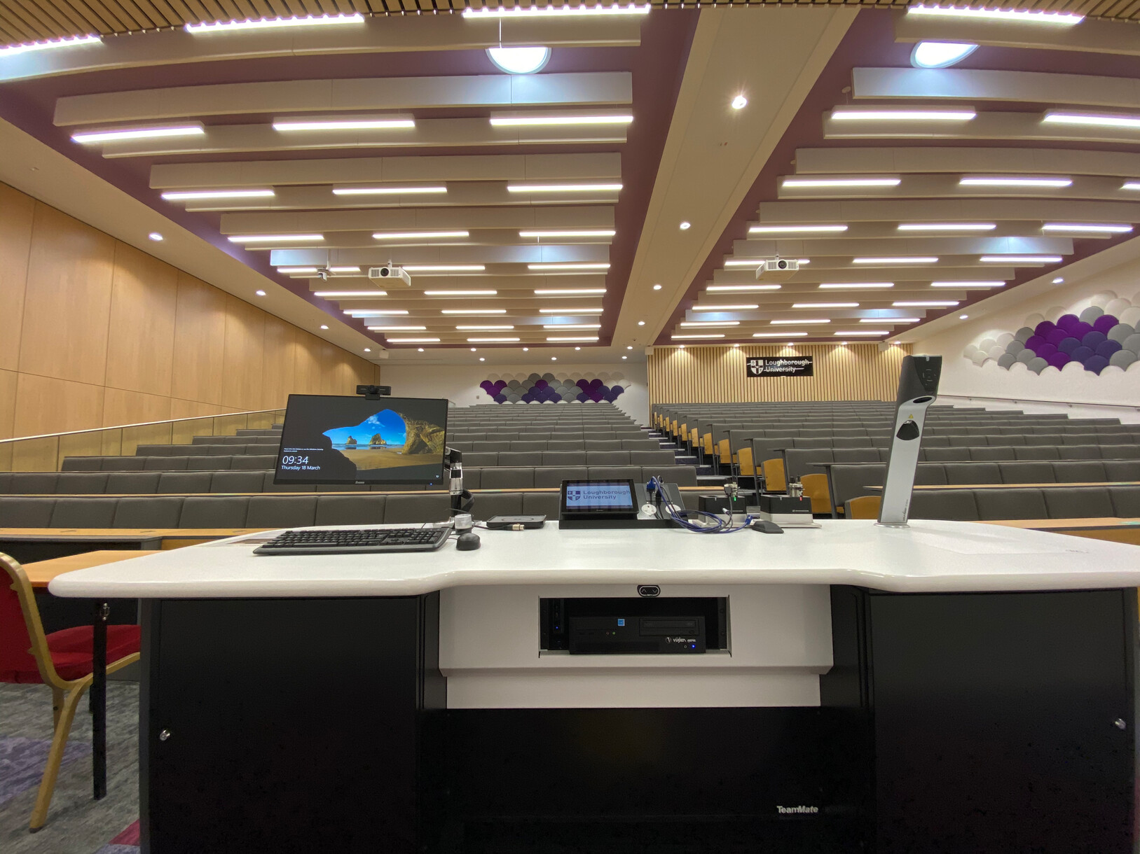 Recording lectures is an important requirement and all Visualizer content can be recorded using the Panopto video platform for convenient on-demand viewing when needed.