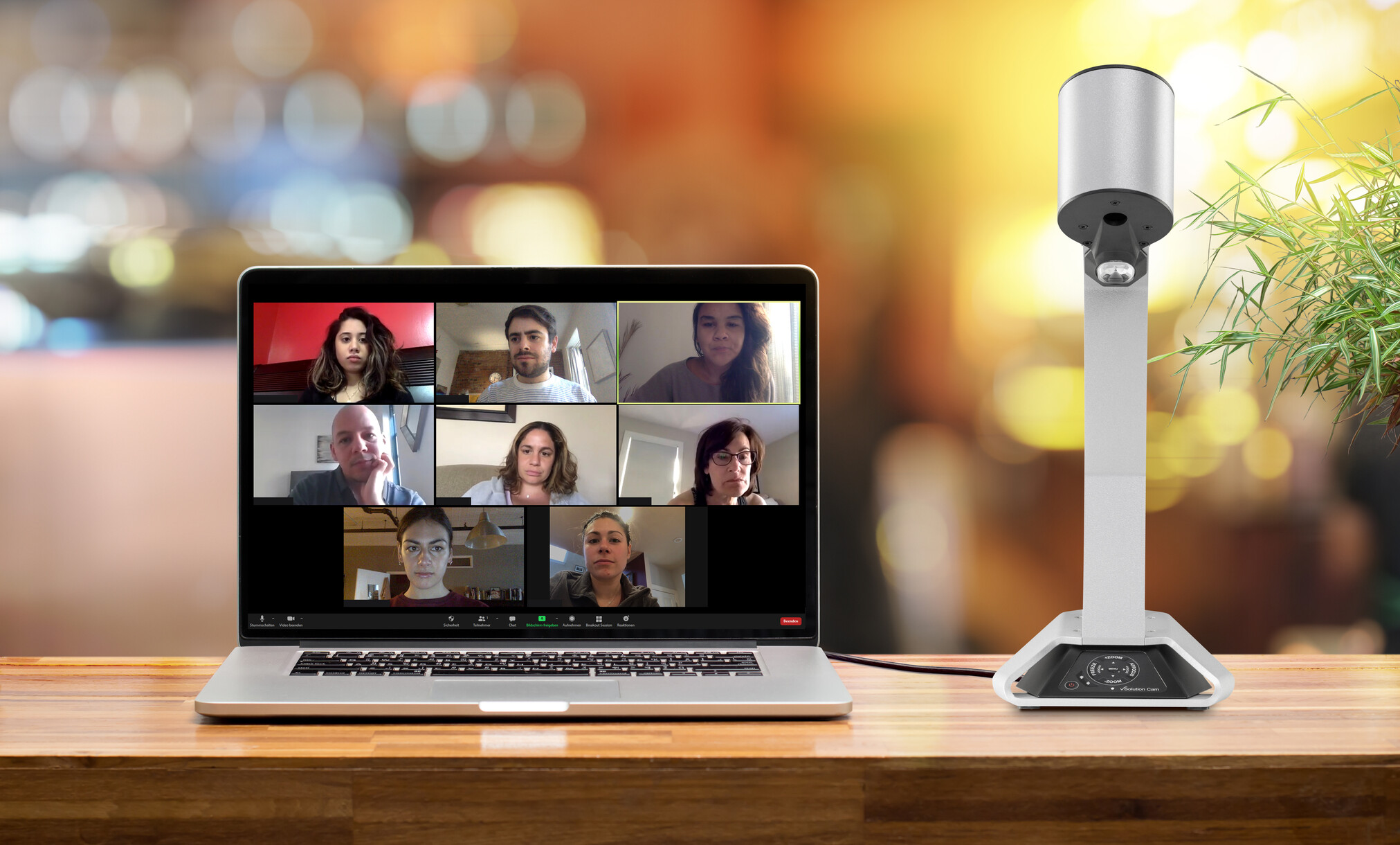 vSolution Cam: Plug-and-play 'live' imaging for online classes and meetings
