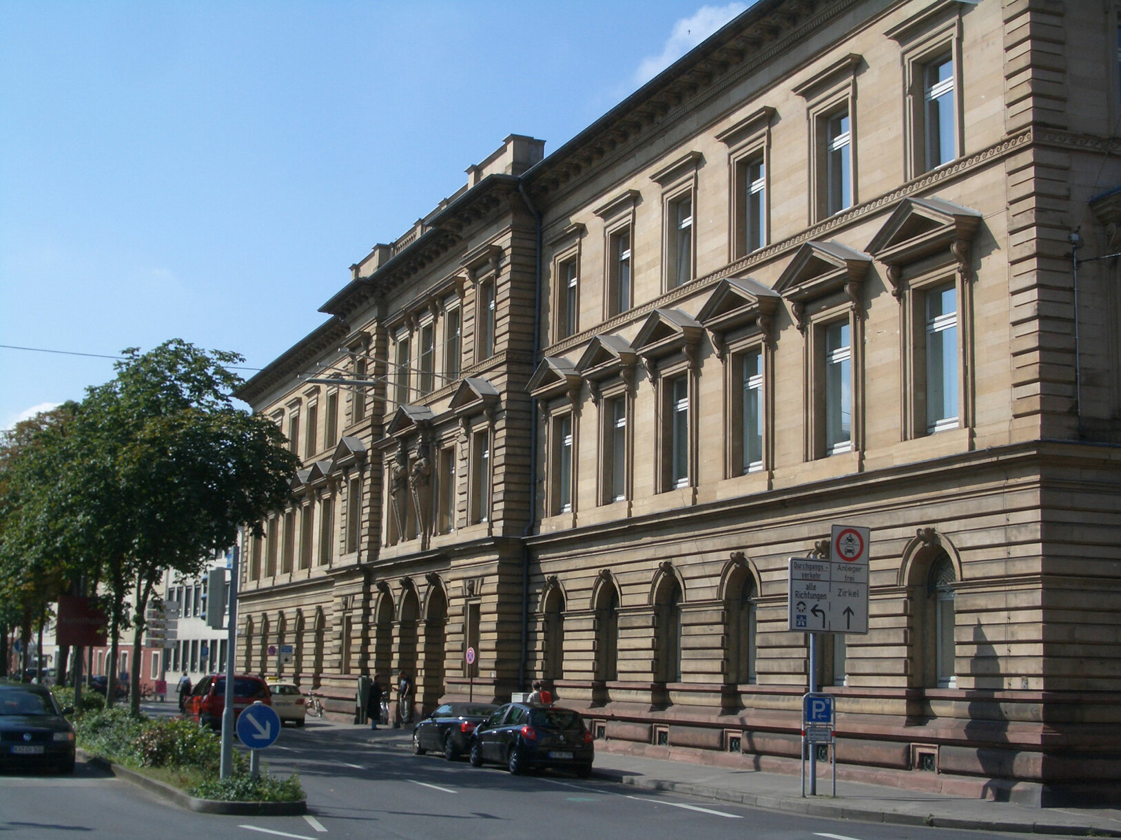 Exterior view of Karlsruhe County Court
