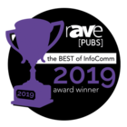 Award: Rave - Best of InfoComm 2019