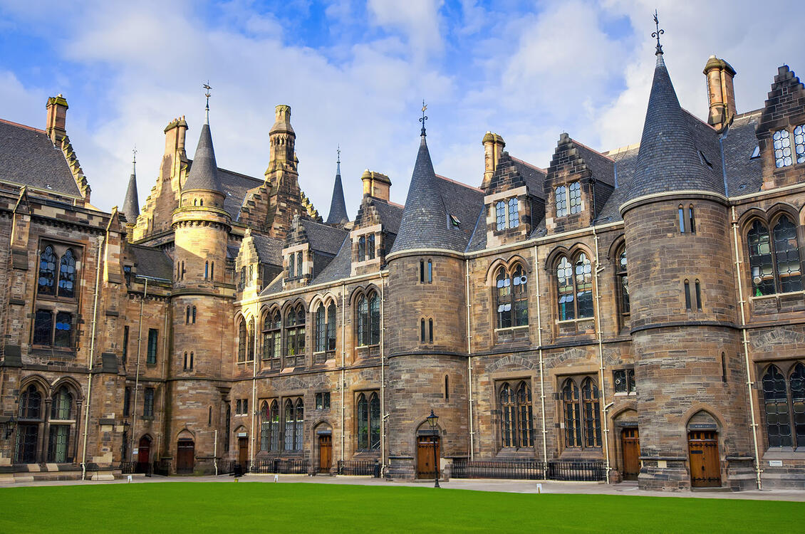 University of Glasgow, Exterior view