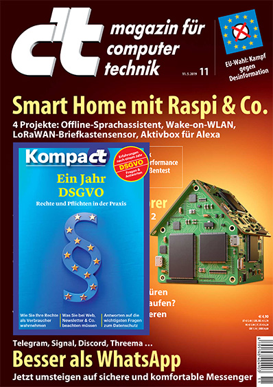 C'T Magazine tests Cynap Pure