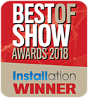 Best of Show ISE 2018 Installation Winner