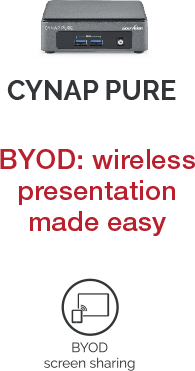Cynap Pure System Comparison