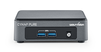 WolfVision Cynap Pure System