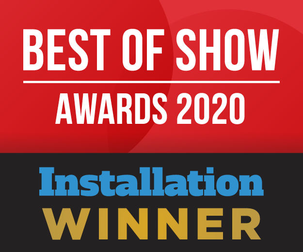 Best of Show ISE 2020 Installation Winner