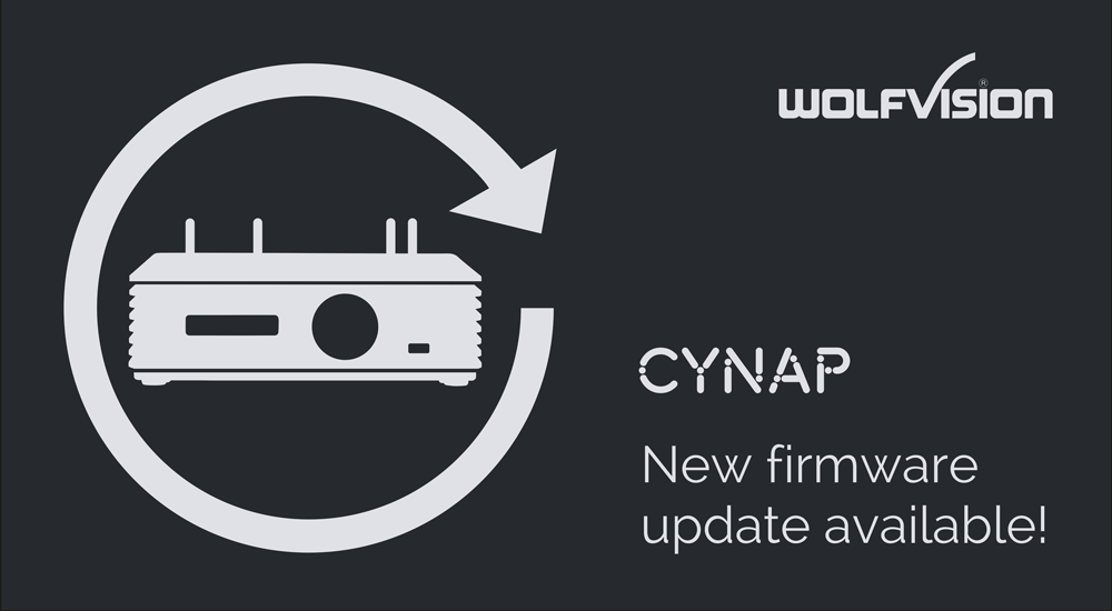 Cynap firmware updates