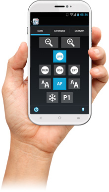 WolfVision vSolution Control app for smartphones